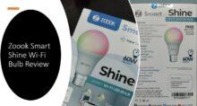 Zoook Smart Shine Wi fi LED Bulb Review min
