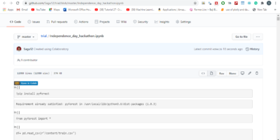 Steps to use Colaboratory for uploading Python files to Github