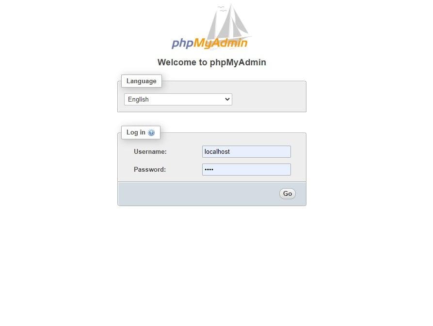 phpmyadmin min
