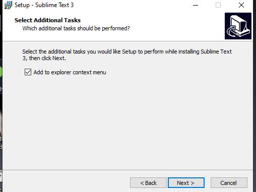 sublime Text Windows 10