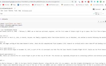 wikipedia clone using python