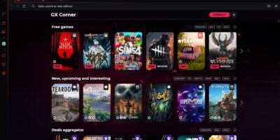 Best browser Gaming Store in Opera GX
