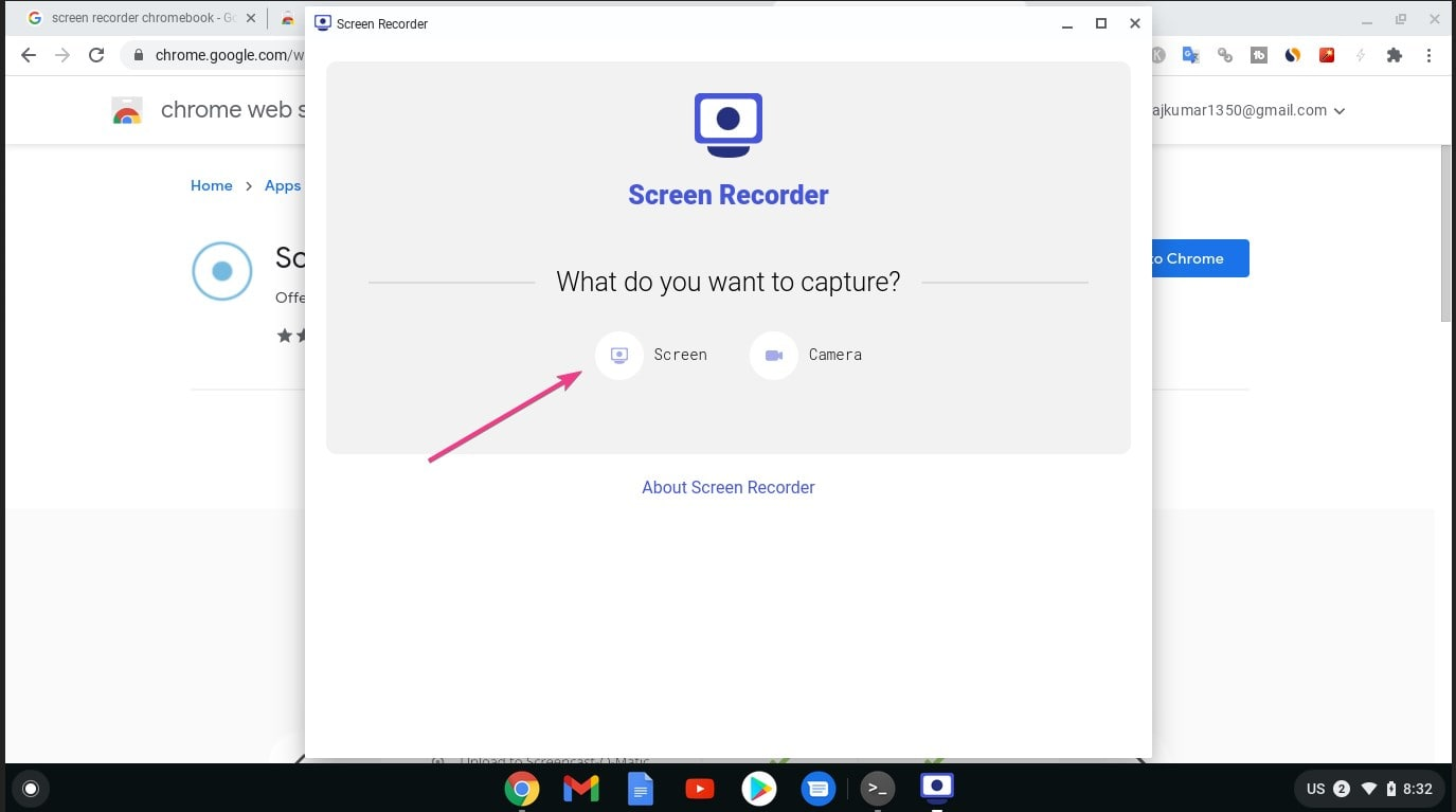 Screen recorder ChromeBook min