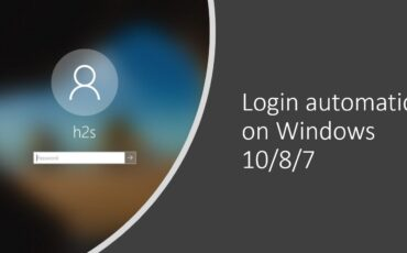 automatic login windows 10