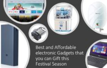 Best and Affordable electronic Gadgets that you can Gift this Festival Season