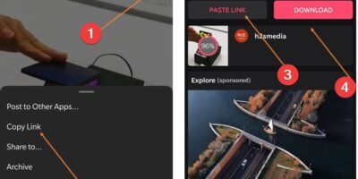 Download Instagram Reels or Video posts on Android