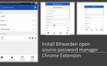 Install Bitwarden open source password manager Chrome Extension
