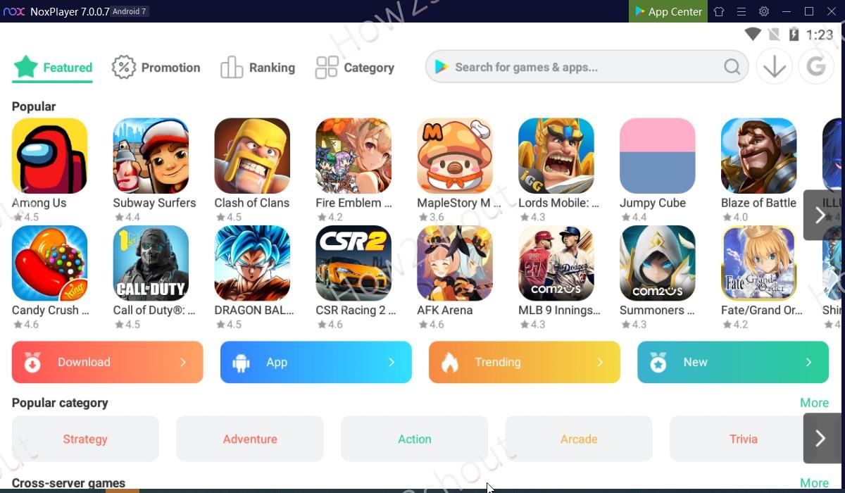 NOX Player Android Emulator 2021