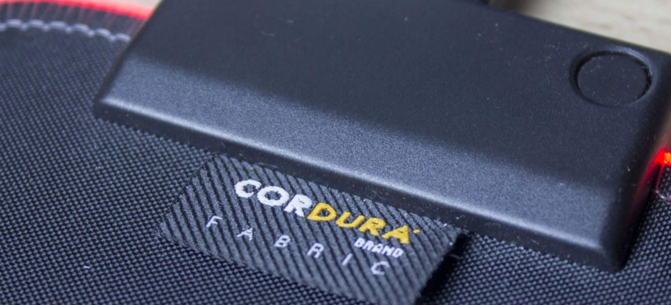 Cordura fabric mouse pad