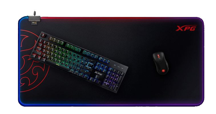 XPG Battleground Prime XL keyboard and mouse pad