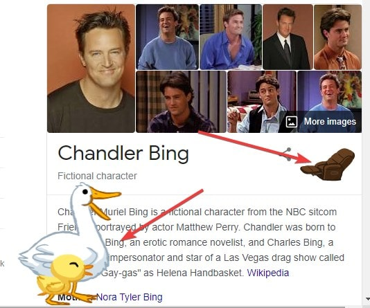 Chandler Bing esater