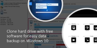 Clone hard drive with free software for easy data backup