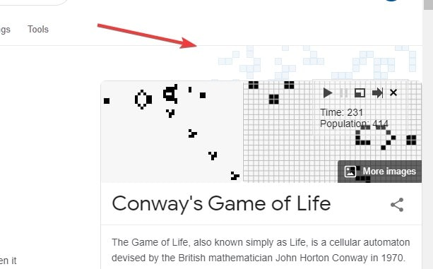 Conways game of life
