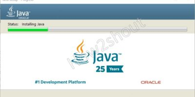 Java JVM installation on Windows 10 min