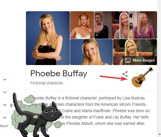 Phoebe Buffay Friends easter egg