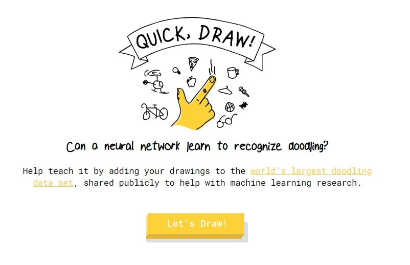 Quickdraw cool website 2021