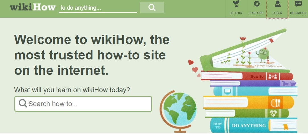 WikiHow is one the cool websites for tutorials
