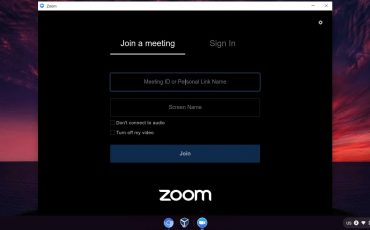 Join Zoom Metting on Chrome OS min