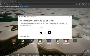 Microsoft Edge with Defender Application Guard min