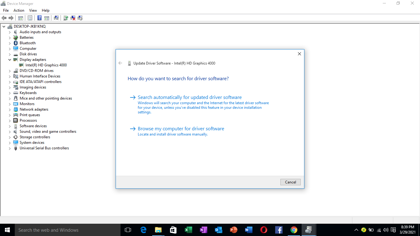 Windows 10 automatic driver update