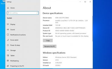Steps to install Microsoft Windows server 2022 on VirtualBox virtual machine