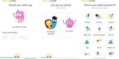 Yellow Class online learning app min