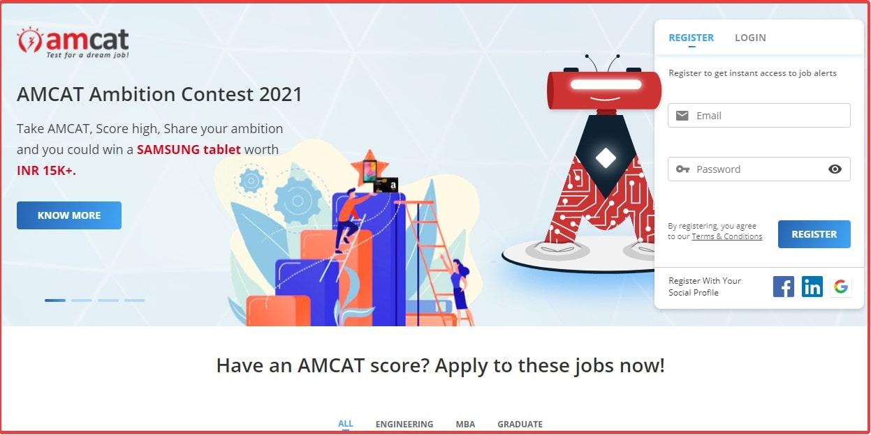 Amcat to find jobs online