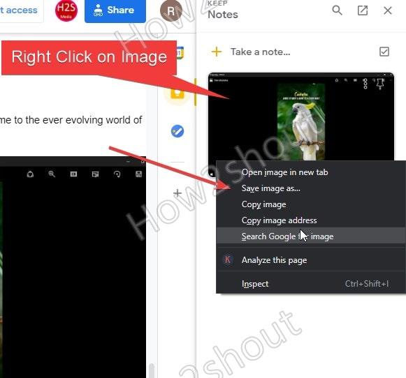 Download Google Doc document Image
