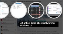 List of Best Email Client software for Windows 10 min