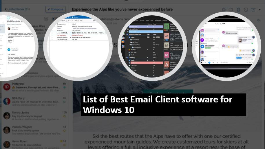 Top 10 Email Clients For Windows 10 In 2021 Free And Paid Apps