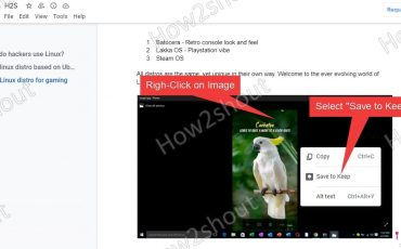Save Google Doc text images