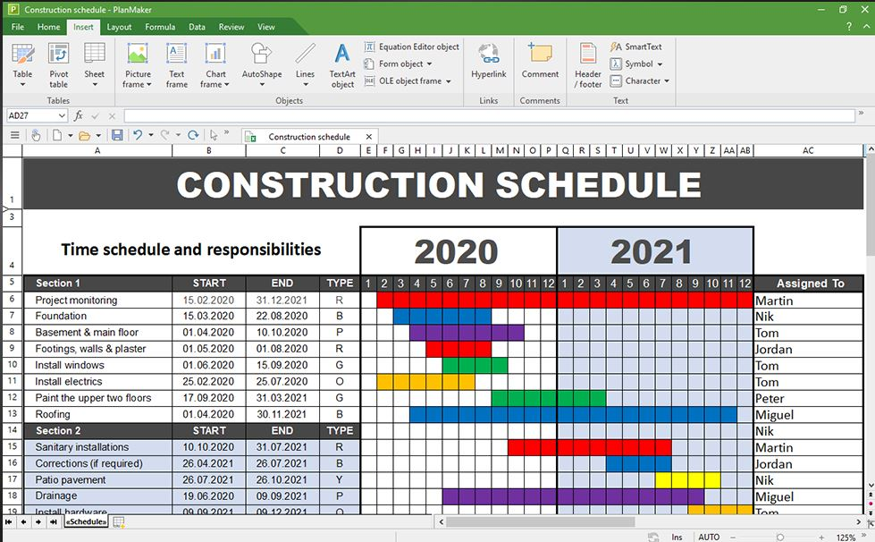 Softmaker Planmaker free office 2021 excel replacement