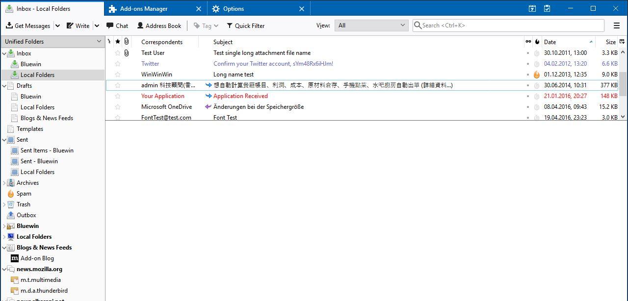 Thunderbird best Open source Email client min