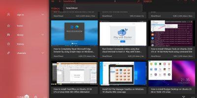 myTube youtube app for Windows 10