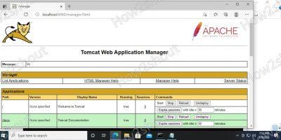 Apache Tomcat installation on Windows using Choco command