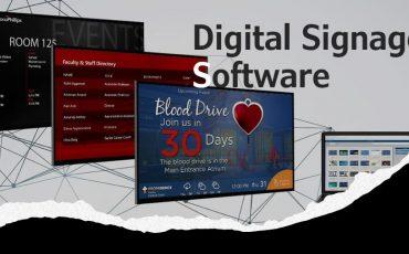 Best free digital signage software min