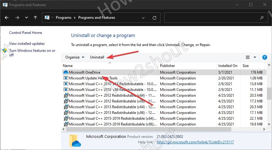 Completely remove OneDrive from Windows 10