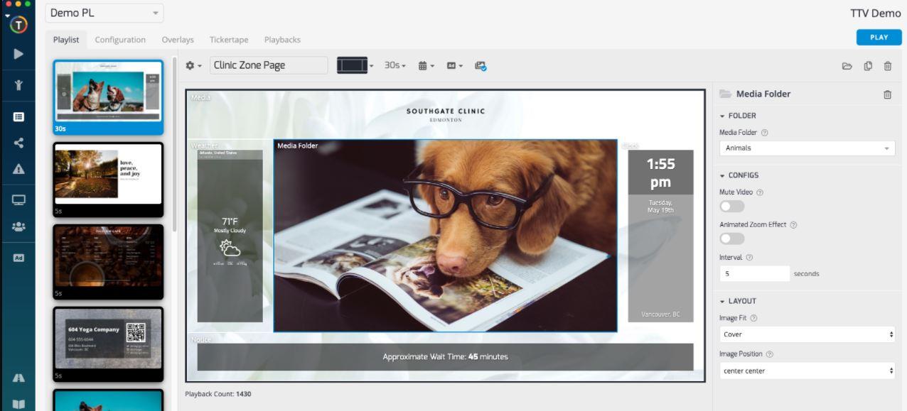 Telemetrytv free digital signage software min
