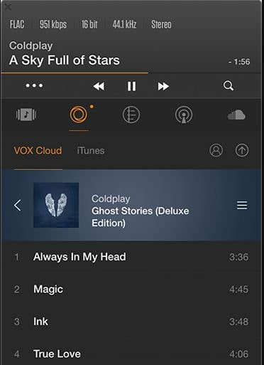 Vox Music Player min
