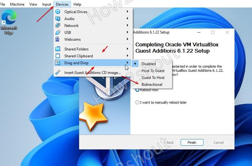 Enable clipboard and drag drop Windows 11