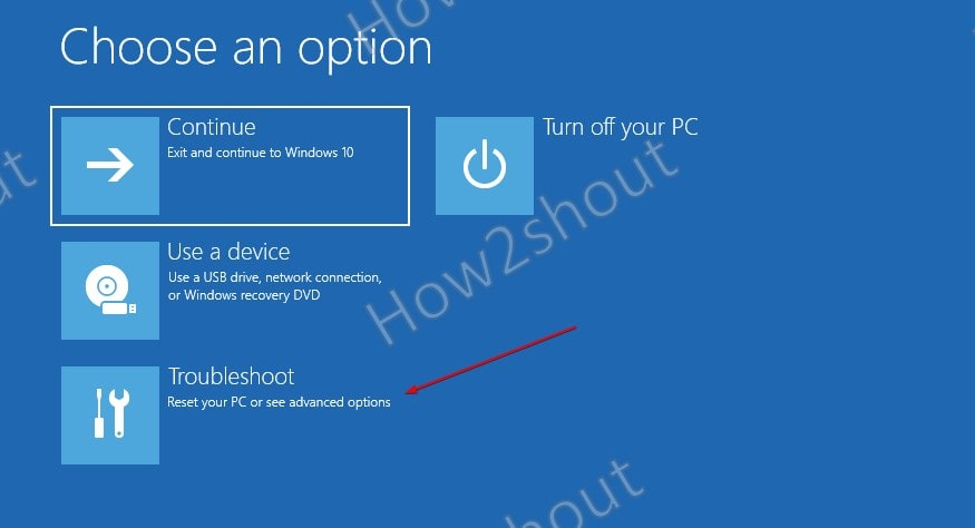 TroubleShoot your Windows 10 PC in Safe Mode