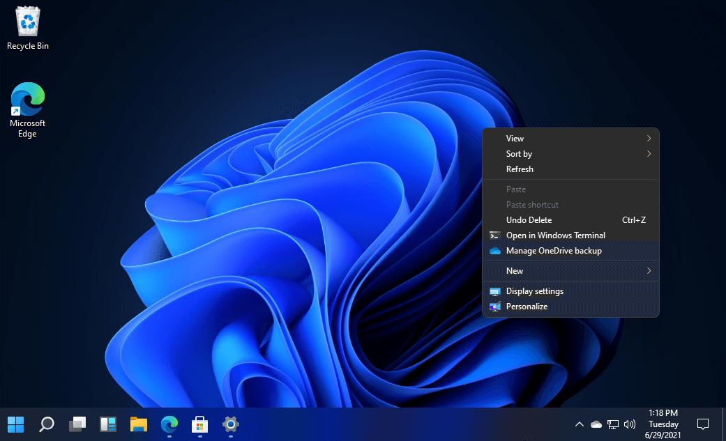 Windows 11 Dark Theme