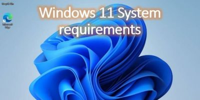 Windows 11 system requirements min