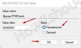 ByPass TPM check value