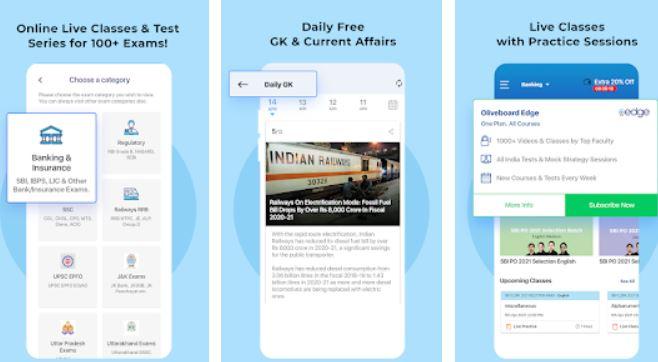 Exam Preparation App Free Mock Test Live Classes min