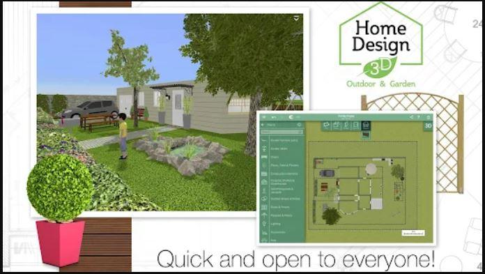 Home Design 3D Outdoor Garden min