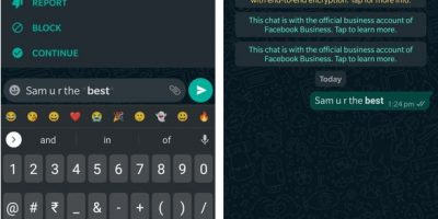 How to use bold font in Whatsapp chat text min