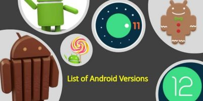List of Android verisons 2021 min