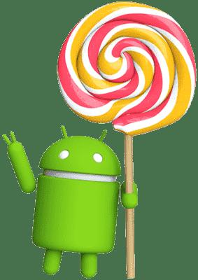 Lollipop Android version min