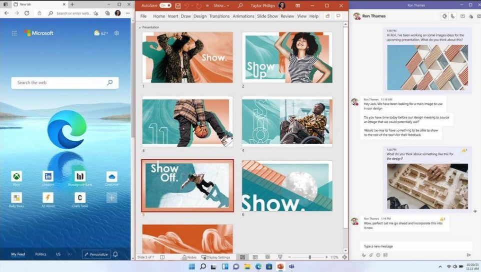Snap Windows 11 group min